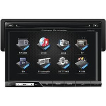 Power Acoustik Pd-710b Single-din Multimedia Fuente Con Desm