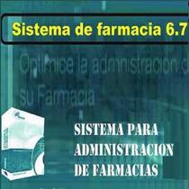 Sistema Administración Gestión Farmacias Control Inventarios