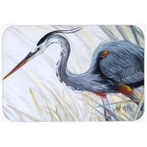 Blue Heron Caza De La Rana De Cristal Tabla De Cortar Grande