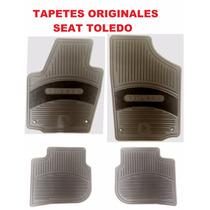 Tapetes Originales Seat Toledo Uso Rudo En Color Negro!