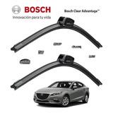 Plumas Limpiaparabrisas Bosch Mazda 3 2014 Al 2018