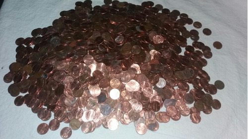Lote De 1600 Monedas Pennys Años 40's50's60's70'80's90'2019