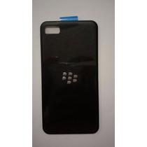 Tapa De Bateria Blackberry Z10 Negra Original