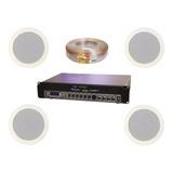 Sonido Soundtrack Instalacion Bluetooth 4 Bocinas + Stp-180