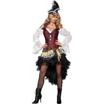 Disfraz Pirata Adulto Mujer Halloween Sexy