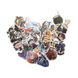 Set 50 Stickers Calcomanias Harry Potter Hogwarts Hermione
