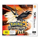 Videojuego Pokemon Ultra Sun Nintendo 3ds Gamer