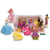 Disney Princess Mini-figura Juego Set # 2