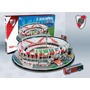 54001 Estadio Monumental River Plate Fc 3d 143 Pzas Nanostad