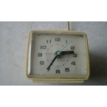 Reloj Despertador Electrico Antiguo General Electric Mesa