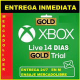 Xbox Live Gold(envío Grati)  Código Solo Funciona Para*one**