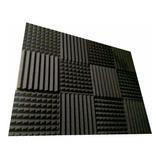 Kit 12 Paneles Acusticos Peine Piramidal Grueso 2 Pulgadas