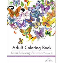 Libro Adult Coloring Book:stress Relieving Patterns Volume 2