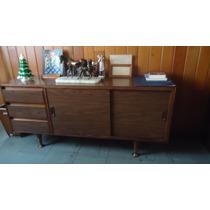 Credenza O Mueble De Oficina De Caoba
