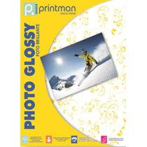 Papel Fotográfico Glossy.tamaño Carta.500 Hojas Envió Gratis