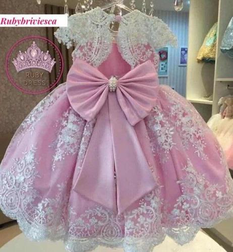 Vestido Para Niña De Presentación De Alta Costura Talla 3 4