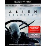 Alien Covenant 4k Ultra Hd + Blu-ray + Digital Hd