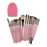 Brochas De Maquillaje Profesional De Ojos Organizador Set 20