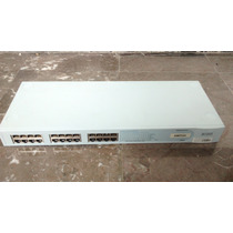 Switch 3com Baseline 2824 Con 24 Puertos 10/100/1000