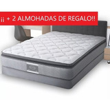 Colchon King Size America Smart Confort Envio Gratis + Box