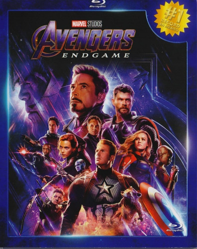 Avengers Endgame Marvel Pelicula Blu-ray