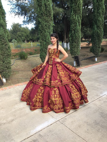 Vestidos De Xv Años Charro 13900 En Melinterest