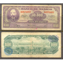 Bkm-2725 Billete De 10000 Pesos Matias Romero