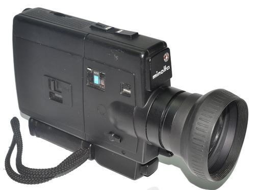 f2e8932900 Camarita De Cine Minolta Xl401. Super 8. Buena.