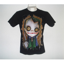 Playera Camiseta Batman Dark Knight Joker Guasón