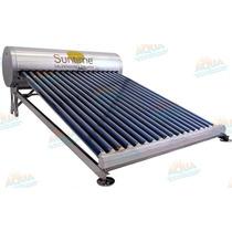 Calentador Solar 18 Tubos. Sin Subir Tinaco. Meses Sin Inter