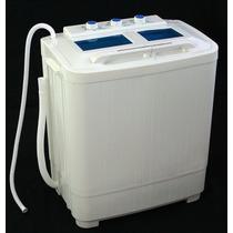 Mini Lavadora Capacidad 5kg Rv Dormitorios Compactos