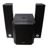 Bocina Audiobahn Asub212c Con Bluetooth Negra 127v