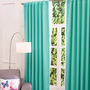 Juego De 2 Cortinas Black Out Catania Menta Vianney