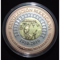 Medalla Trimetálica Centenario De La Revolución Mexicana