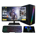 Pc Gamer Xtreme Amd A10 Gaming Radeon R7 8gb 500gb Monitor Led 20 Pulg.