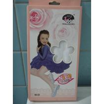 Mallas Para Niña Delgadas Blancas Super Lindas Sp0