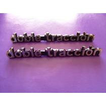 Emblemas Doble Traccion Wagoneer Jeep De Uso