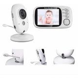 Monitor De Bebé Con Pantalla Lcd De 3.2 Comunicacion Doble