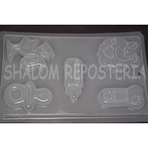 *molde Mediano Gelatinas Jabon 5 Figuras Baby Shower Varios*