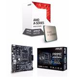 Kit De Actualización Amd A10-9700 + Asus A320m-k + 8gb Ddr4-