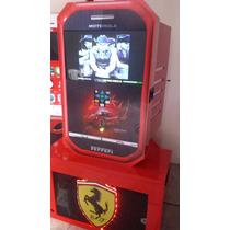 Rockola Ferrari 2015 Led 24 Dd 2 Tb. Camara Humo, Laser,led