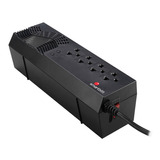 Regulador De Energía Smartbitt Prot Descargas 4 Cont 1200va