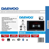 Autoestereo Daewoo Doble Din -dvd-bluetooth-touch-4x60watts