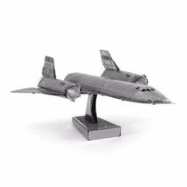 Rompecabezas Metalico 3d Avión Sr-71 Blackbird