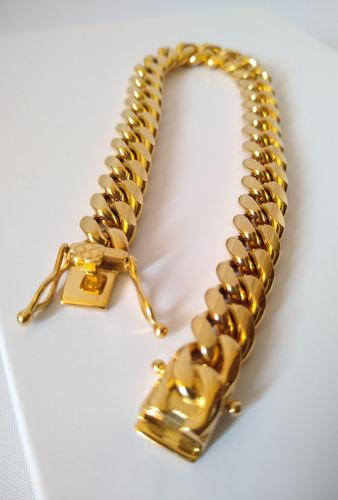 9c014a72c8b0 Cadena Esclava Para Hombre Oro Laminado 18k en venta en Gustavo A. Madero  Distrito Federal por sólo   690
