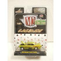 M2 Machines Wild Cards 1955 Chevrolet Bel Air Hardop Verde