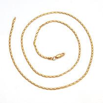 Cadena Oro Laminado 10k 22 Pulgadas X 1.5mm 4.2 Gramos
