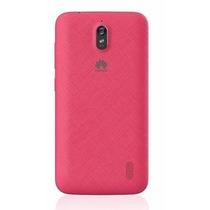 Tapa De Bateria Huawei Modelo Y625 Color Rosa Pieza Original