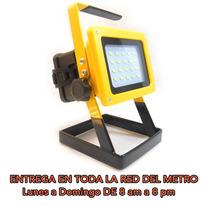 Lampara Reflector Linterna Portatil Y Recargable