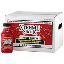 Ansi Xtreme Shock Ponche De Frutas 12 Oz 12 Ct